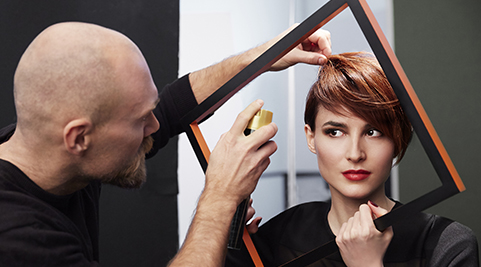Copper Pixie by Loan Chabanol, IT LOOK OTOÑO - INVIERNO 2014 de L'OREAL PROFESSIONNEL